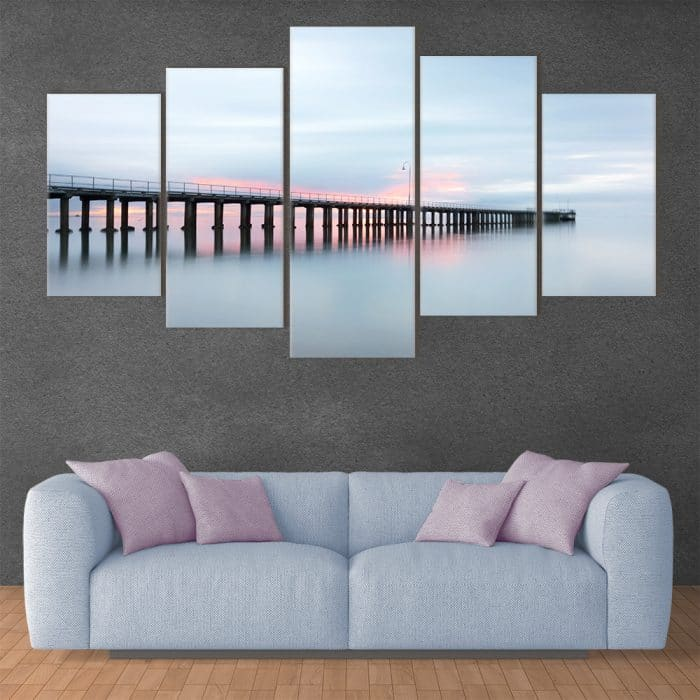 Pier in to The Abyss- Beautiful Home Décor | Unique Canvas
