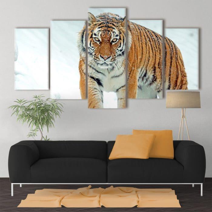 Prowling Tiger - Beautiful Home Décor | Unique Canvas
