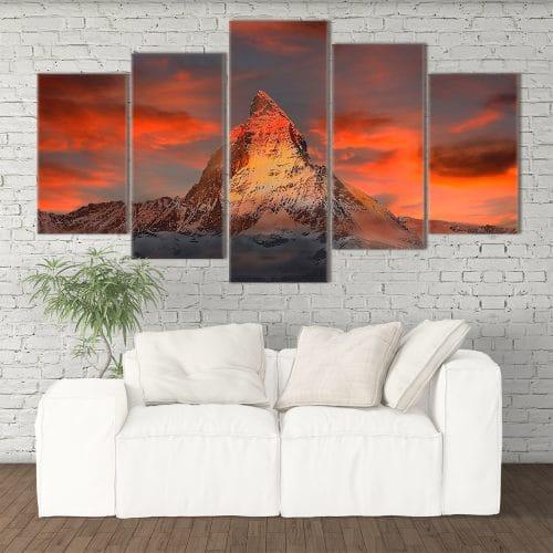Red Mountain- Beautiful Home Décor | Unique Canvas