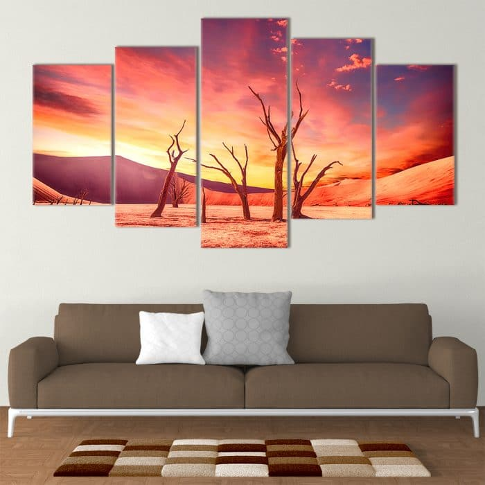 Red Parched Desert- Beautiful Home Décor | Unique Canvas