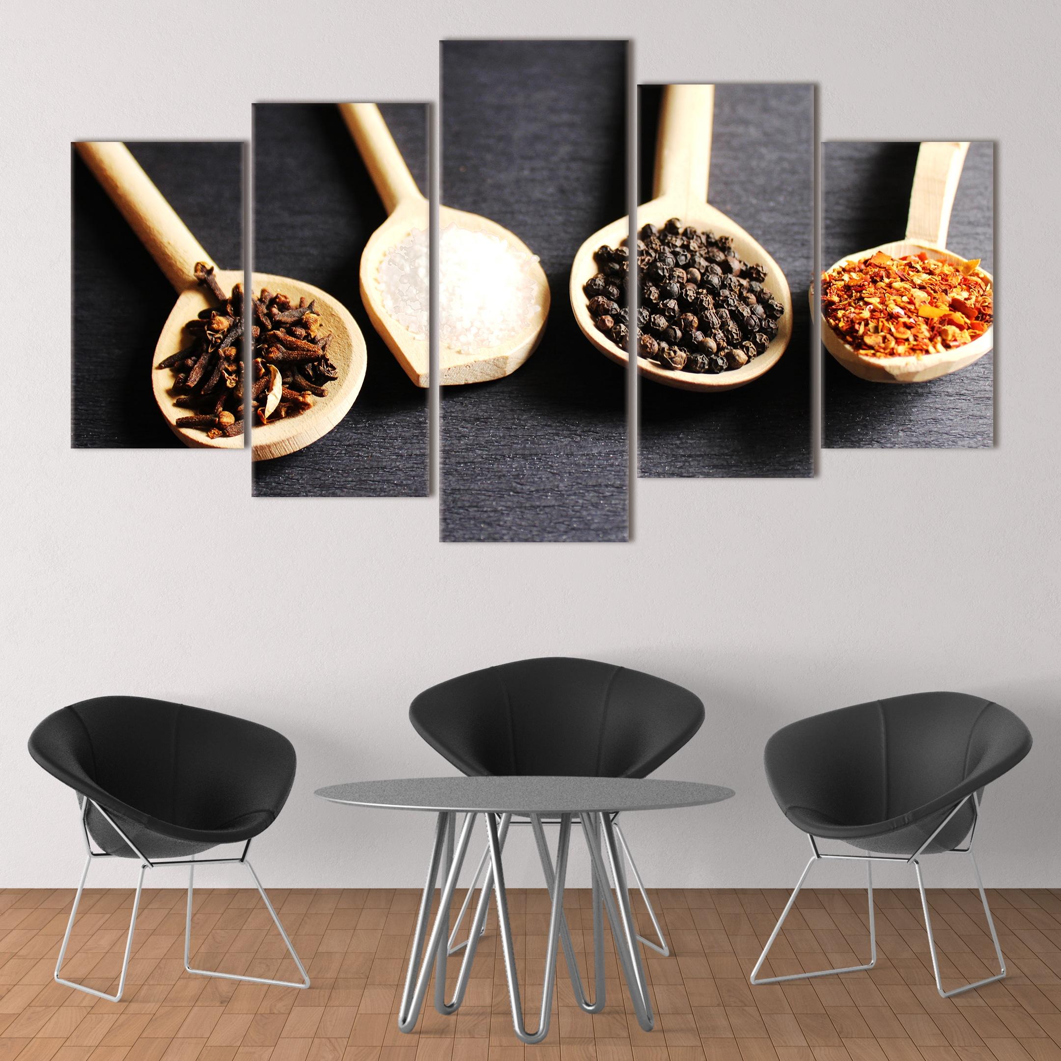 Spoons of Spices unique canvas