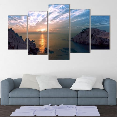 Sunset Bay- Beautiful Home Décor | Unique Canvas
