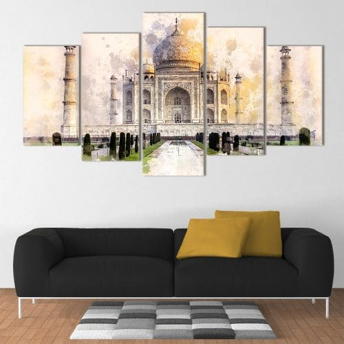Taj Mahal Canvas- Beautiful Home Décor | Unique Canvas