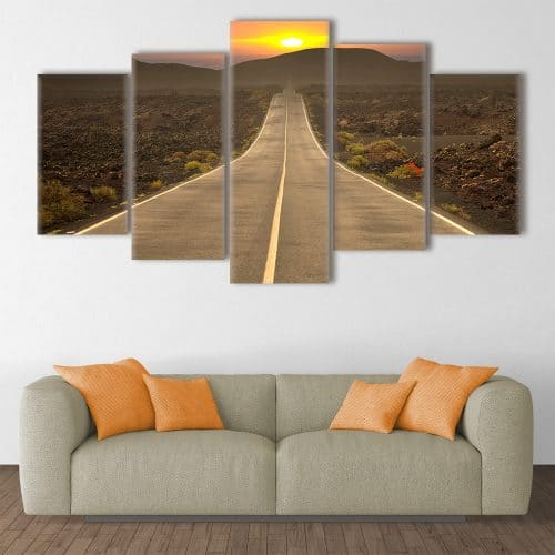 The Road to Freedom- Beautiful Home Décor | Unique Canvas