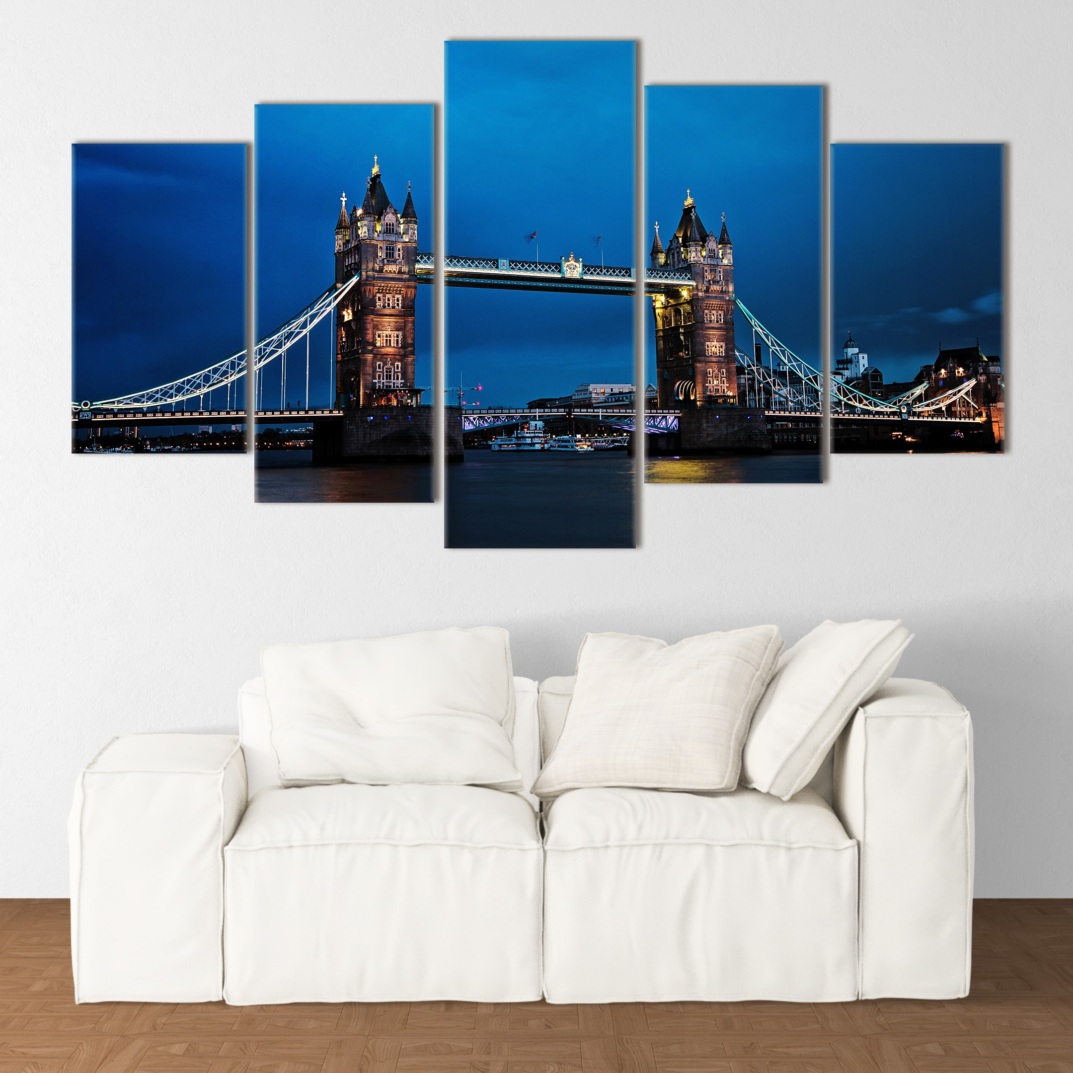 Tower Bridge at Dusk - Beautiful Home Décor | Unique Canvas
