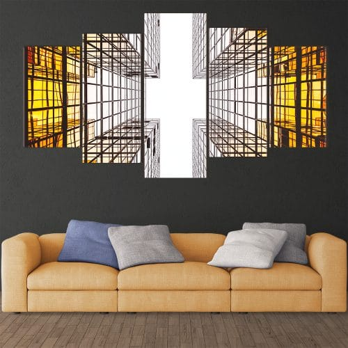 Abstract Architecture - Beautiful Home Décor | Unique Canvas