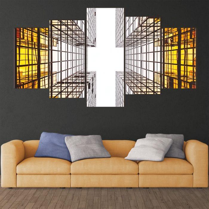 Abstract Architecture - Beautiful Home Décor | Unique Canvas