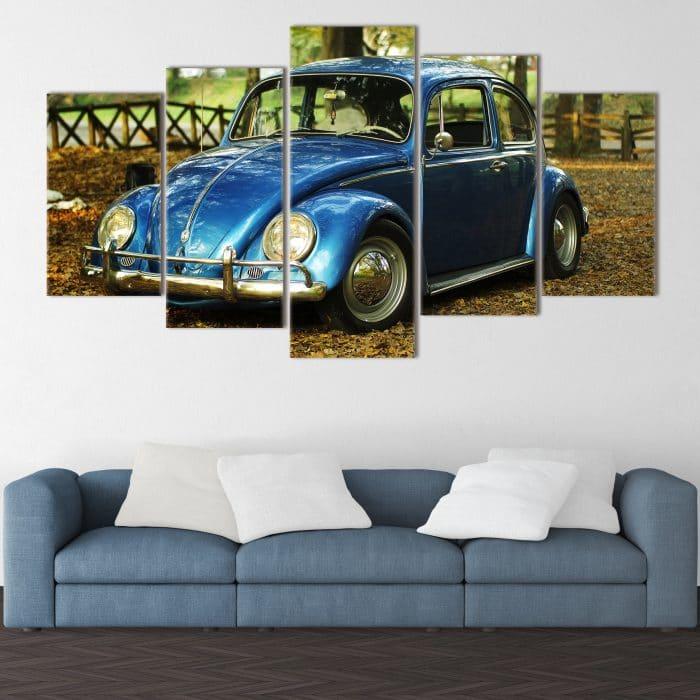 Blue Beetle unique canvas