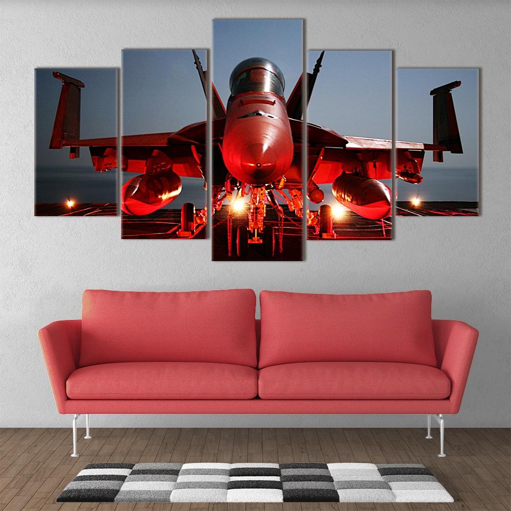 Fierce Fighter unique canvas