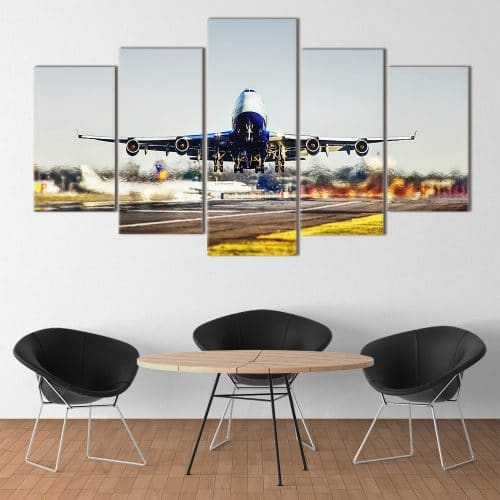 Buy Jumbo Jet Unique Canvas