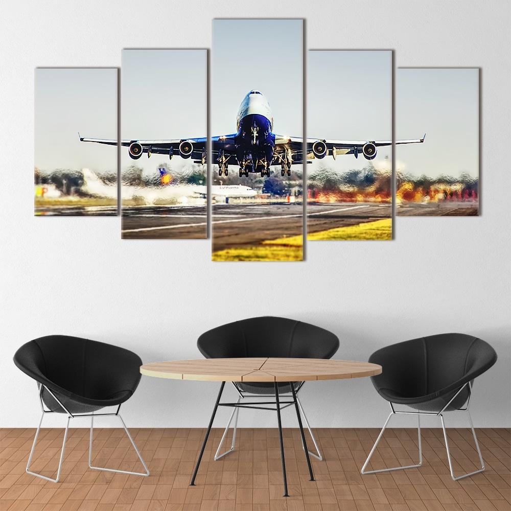 Buy Jumbo Jet Unique Canvas