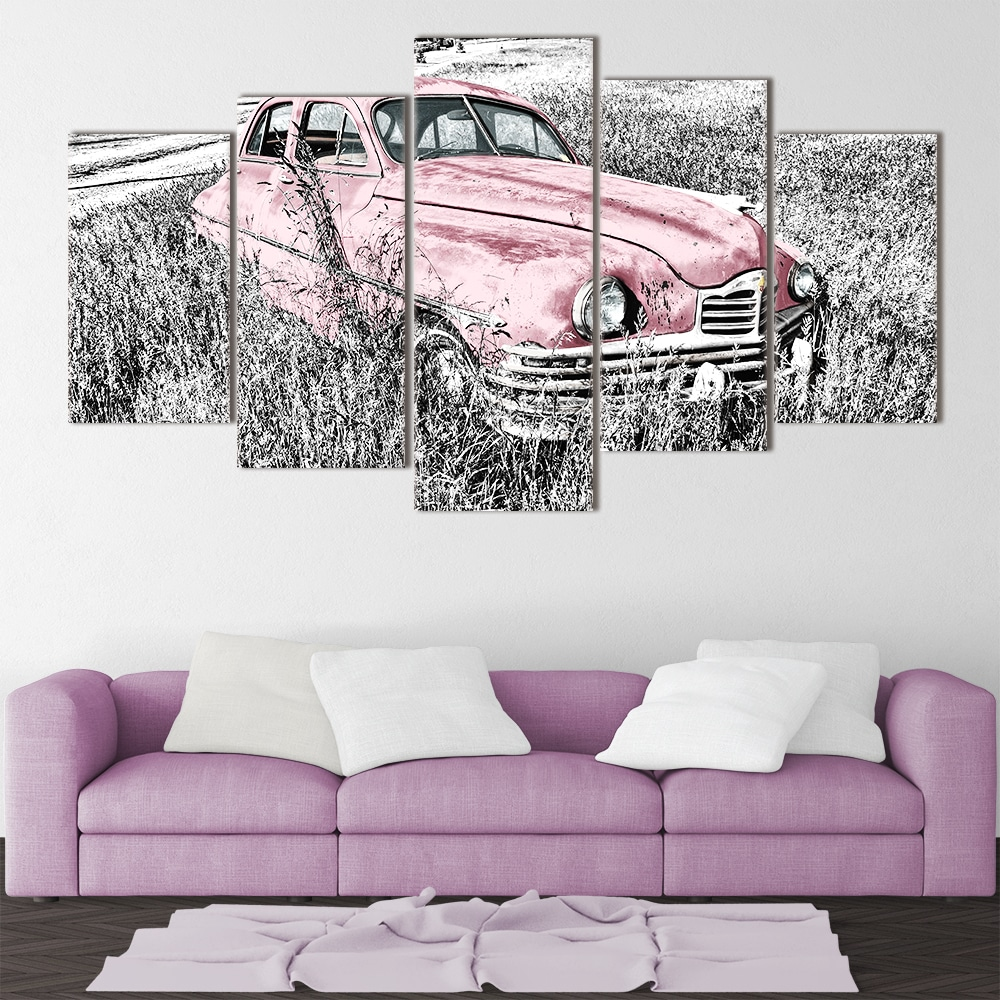 Old Timer unique canvas
