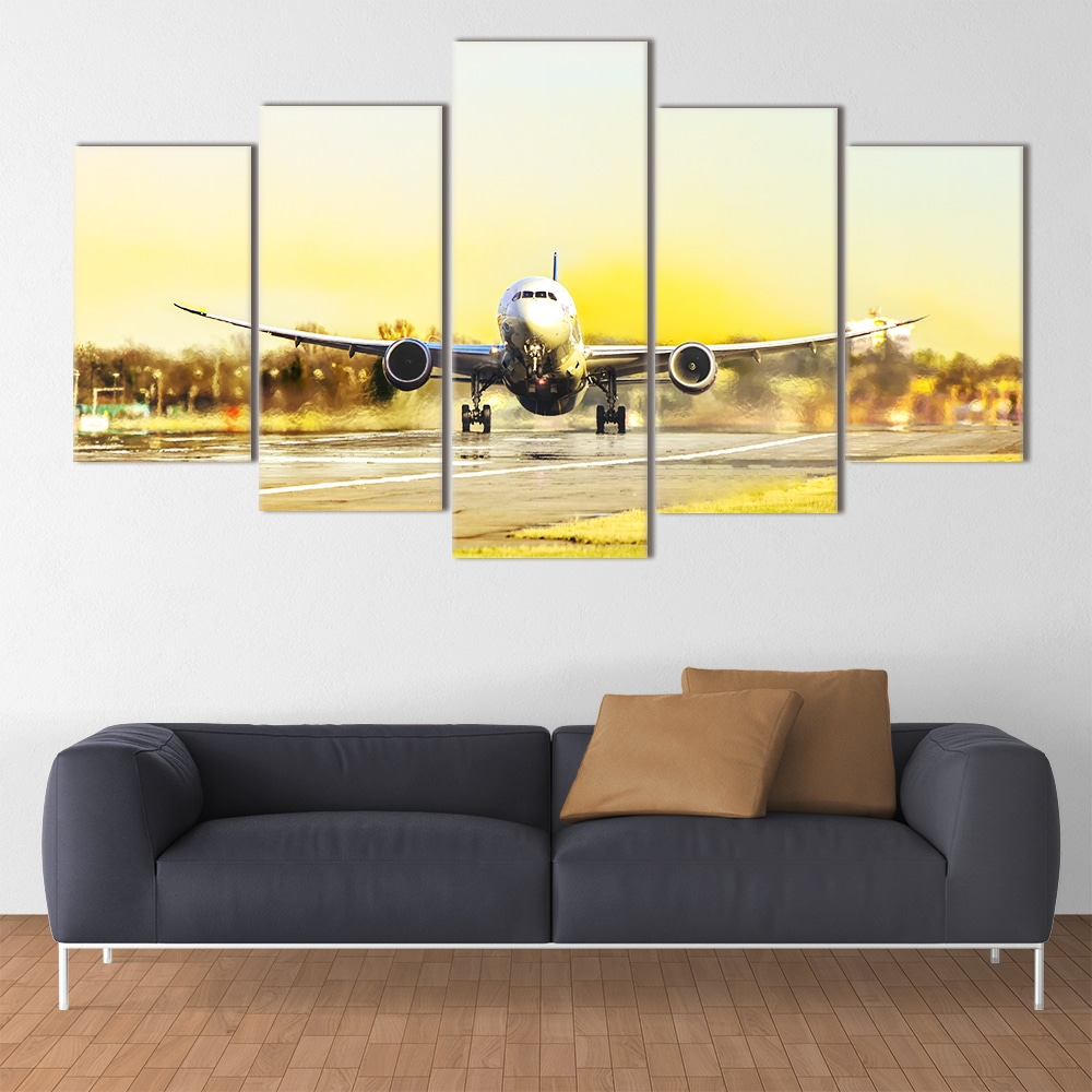 Buy Powerful Take Off Unique Canvas