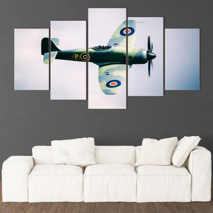 RAF Fighter unique canvas