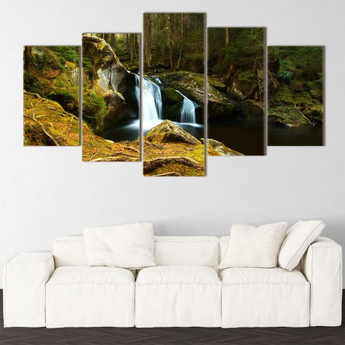 Silk Waterfall - Beautiful Home Décor | Unique Canvas