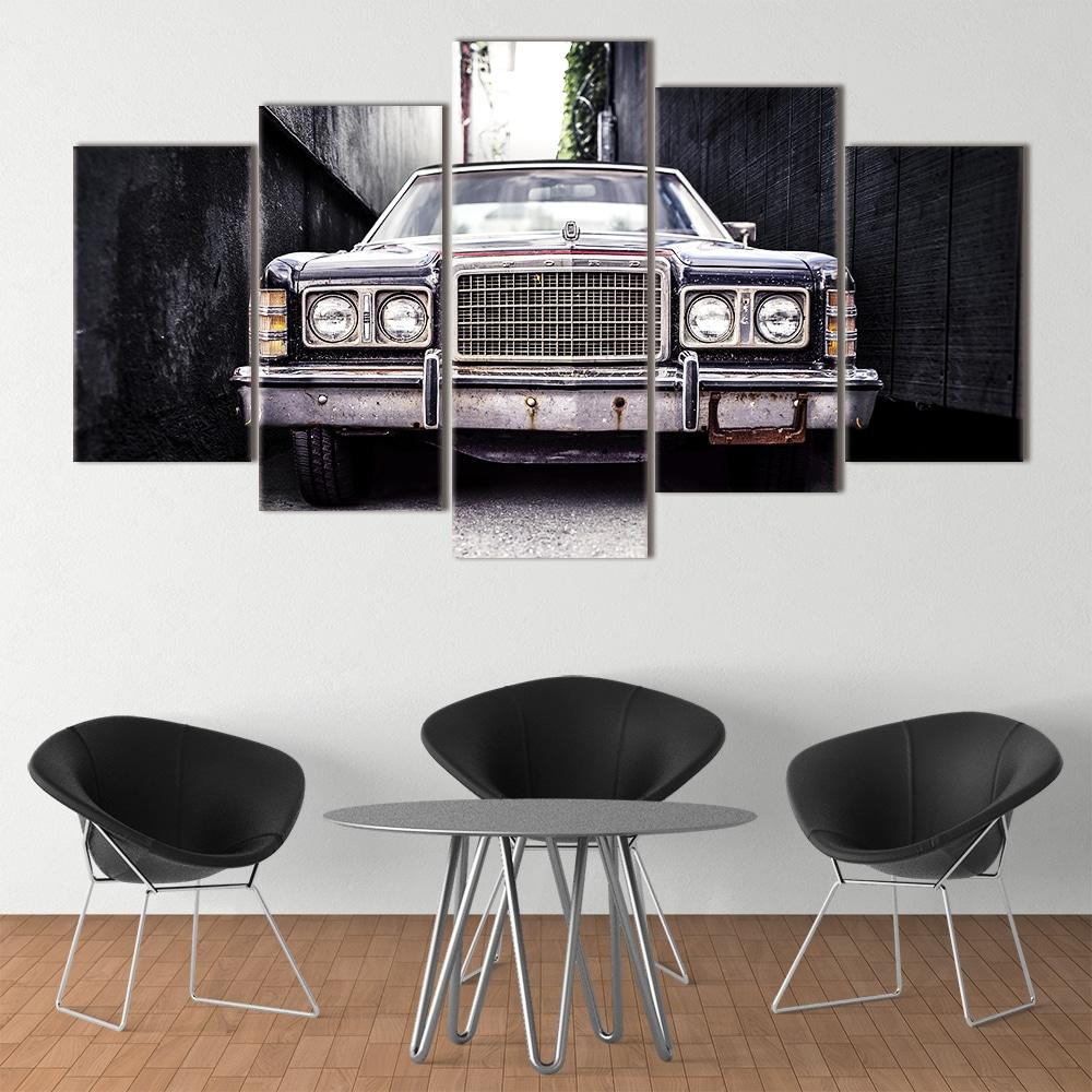 Vintage Car unique canvas