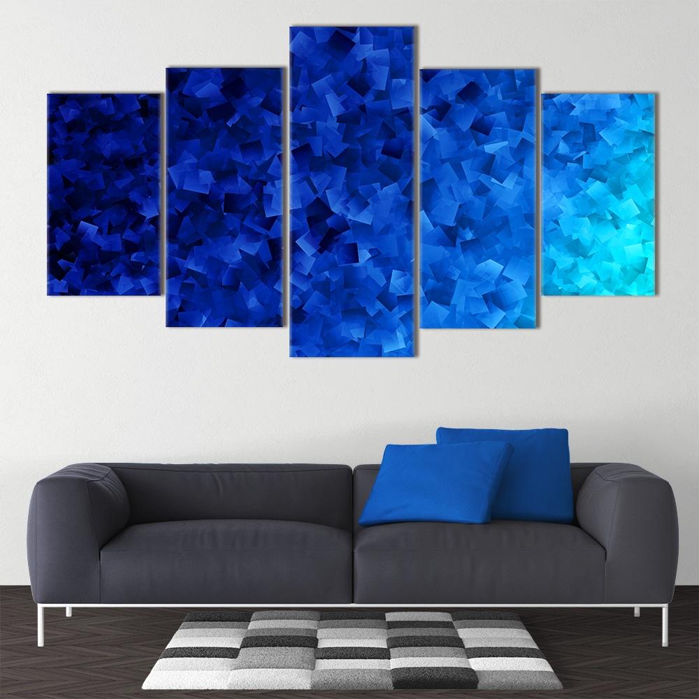 50 Shapes of Blue - Beautiful Home Décor | Unique Canvas