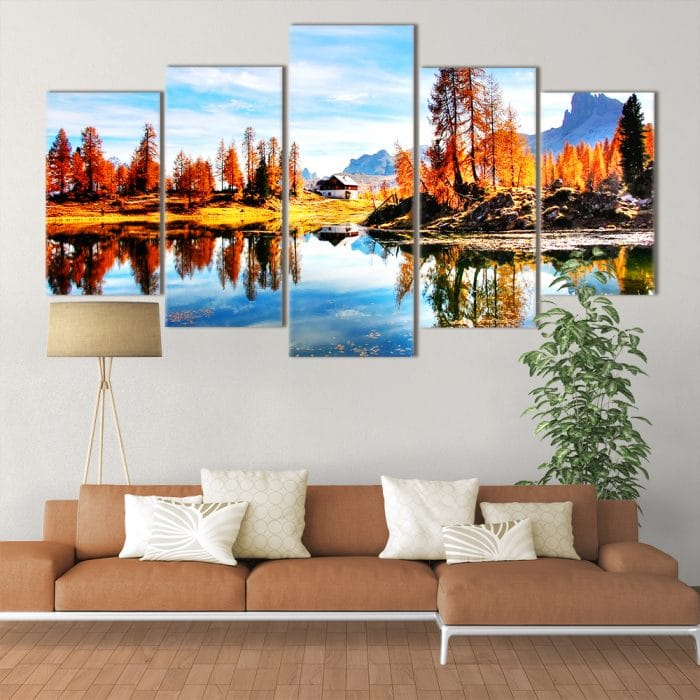 Autumn Dolomites- Beautiful Home Décor | Unique Canvas