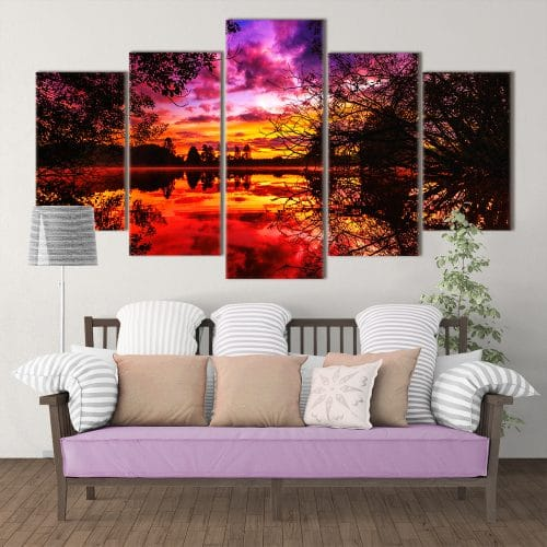 Autumn Hues- Beautiful Home Décor | Unique Canvas