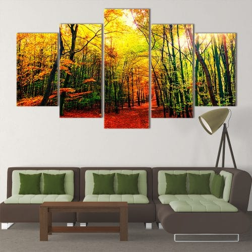 Autumn Leaves- Beautiful Home Décor | Unique Canvas