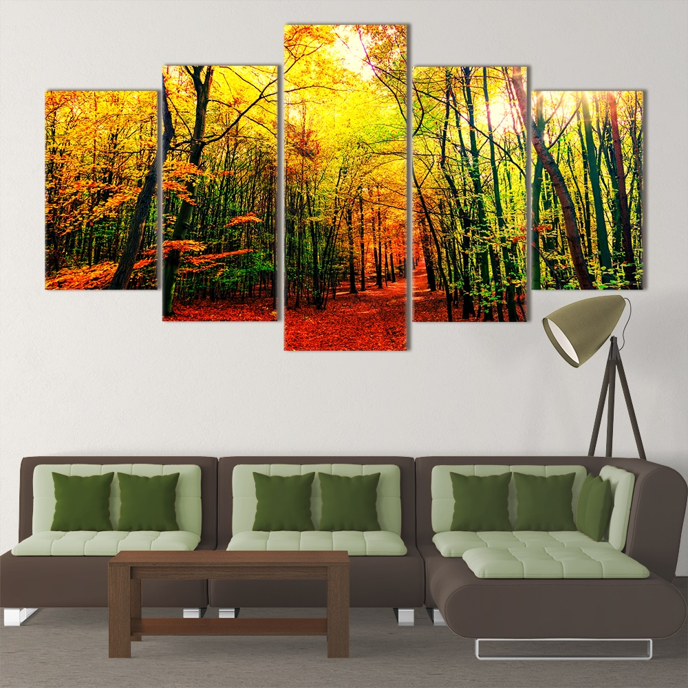 Autumn Leaves- Beautiful Home Décor | Unique Canvas