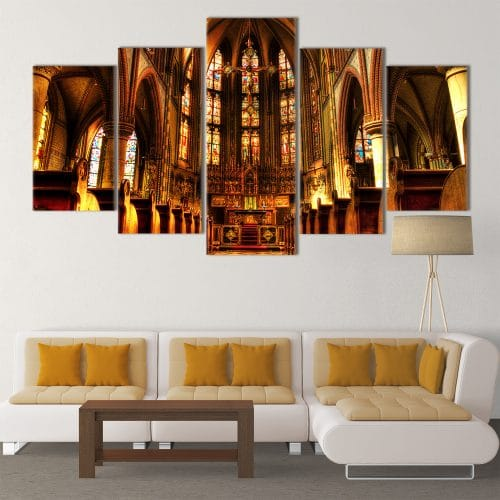 Church Serenity- Beautiful Home Décor | Unique Canvas