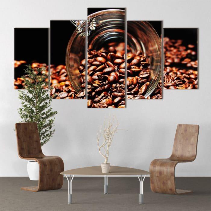 Coffee Beans unique canvas