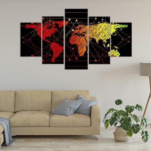 Connected World - Beautiful Home Décor | Unique Canvas