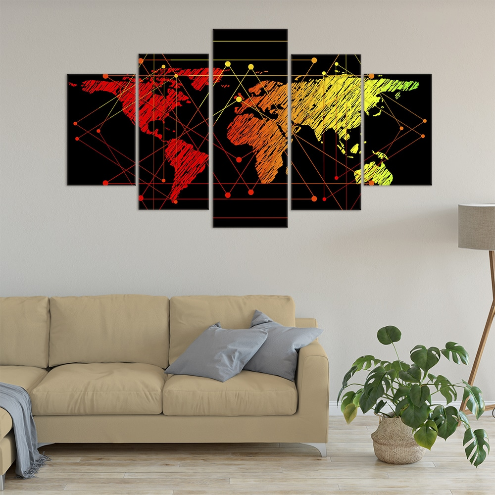 Connected World - Beautiful Home Décor | Unique Canvas
