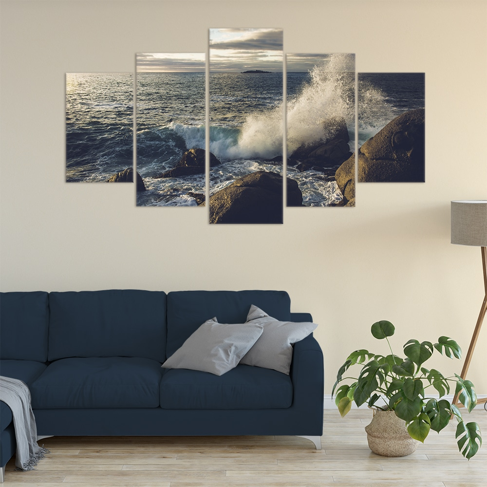 Crashing Waves- Beautiful Home Décor | Unique Canvas