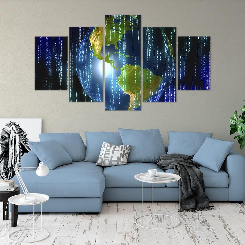 Buy Digital Age Unique Canvas