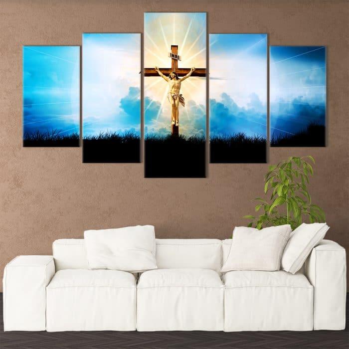 Eminating Christ- Beautiful Home Décor | Unique Canvas
