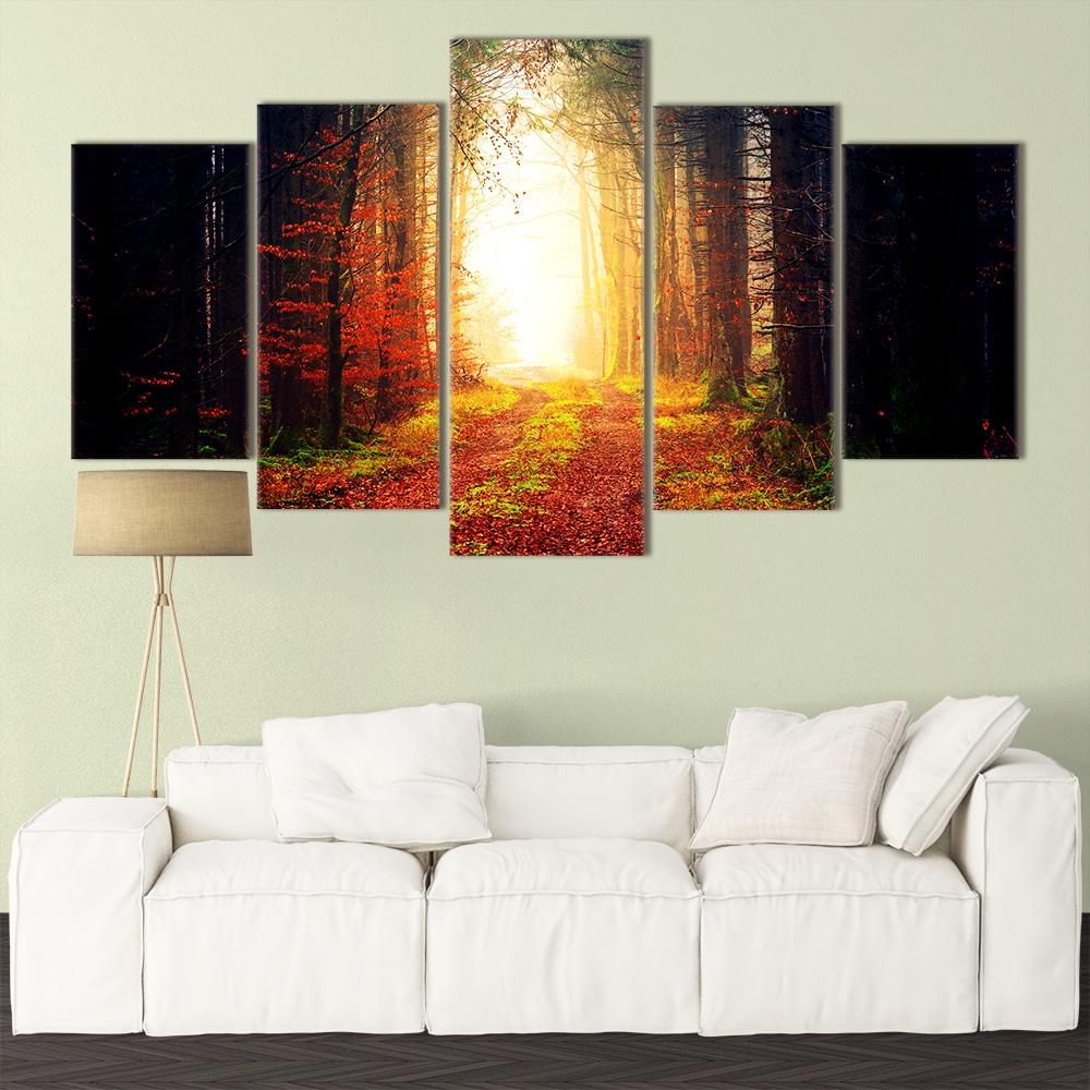 Enchanted Forest- Beautiful Home Décor | Unique Canvas