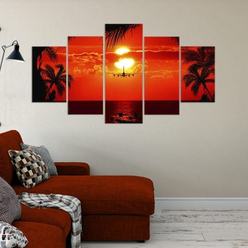 Buy Fly into The Sunset Unique Canvas