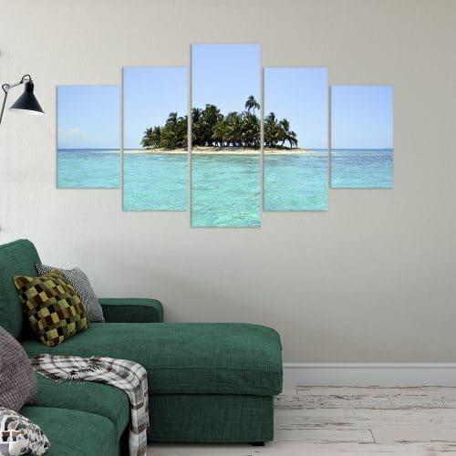 Island Paradise- Beautiful Home Décor | Unique Canvas