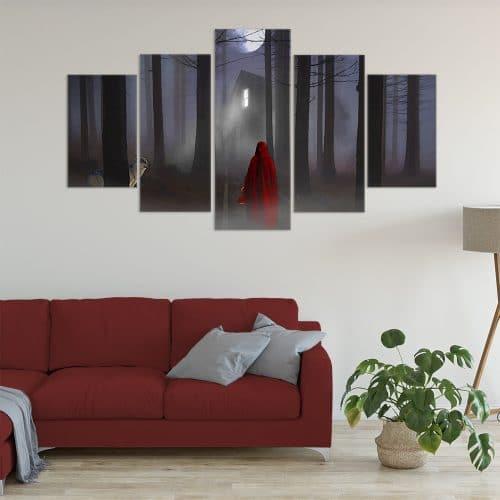 Little Red Riding Hood - Beautiful Home Décor | Unique Canvas