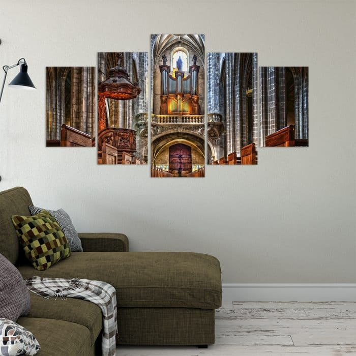 Majestic Cathedral- Beautiful Home Décor | Unique Canvas