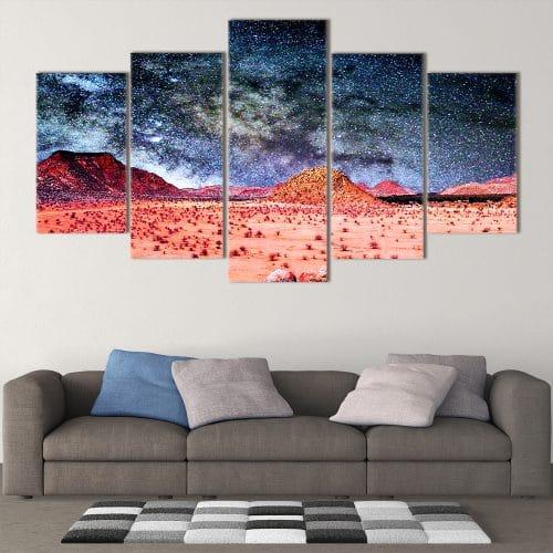 Martian Desert- Beautiful Home Décor | Unique Canvas