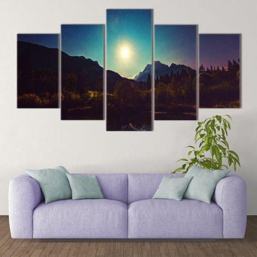 Moonshine- Beautiful Home Décor | Unique Canvas