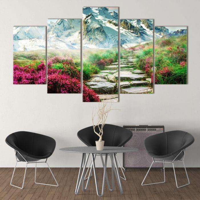 Mountain Mist- Beautiful Home Décor | Unique Canvas