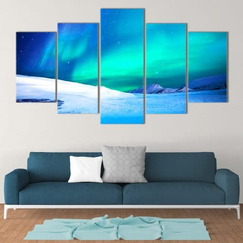 Northern Lights- Beautiful Home Décor | Unique Canvas