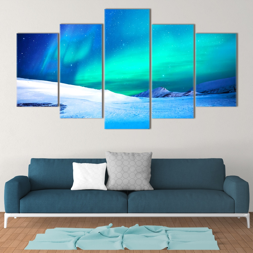 Northern Lights- Beautiful Home Décor | Unique Canvas