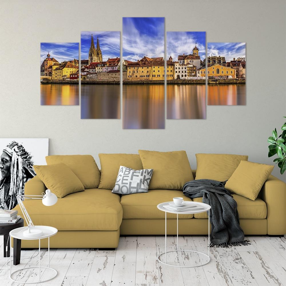 Panorama Regensburg - Beautiful Home Décor | Unique Canvas