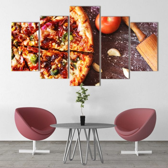 Pizza Lover unique canvas