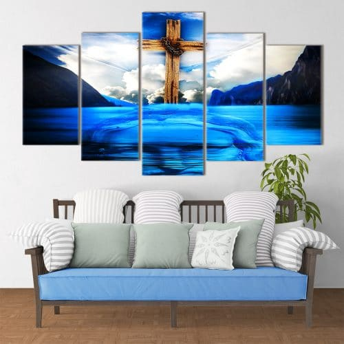 Refelective Christ- Beautiful Home Décor | Unique Canvas