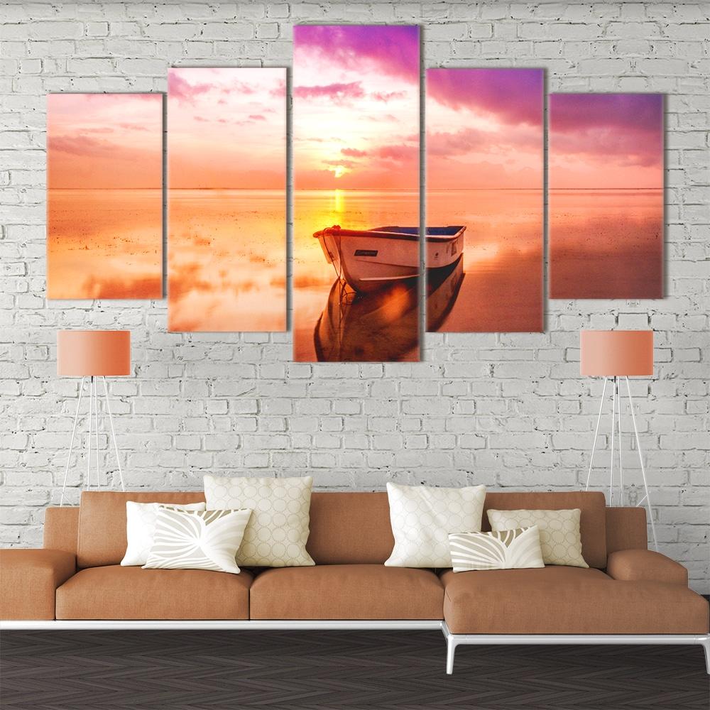 Solitary Sunset- Beautiful Home Décor | Unique Canvas