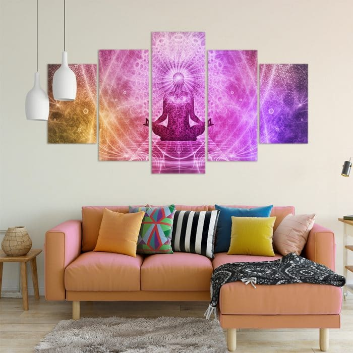Spiritual Mind- Beautiful Home Décor | Unique Canvas