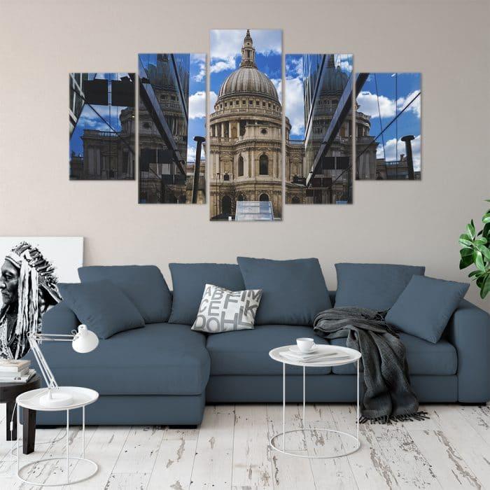 St Paul's London - Beautiful Home Décor | Unique Canvas
