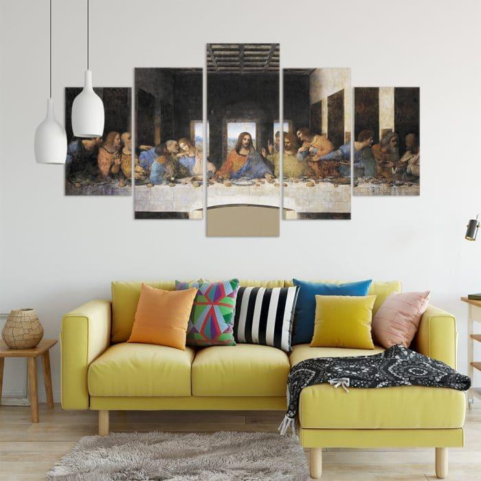 The Last Supper- Beautiful Home Décor   Unique Canvas