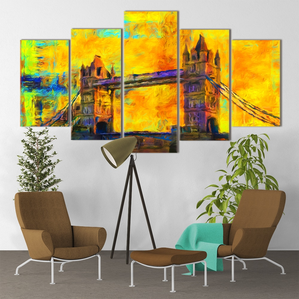 Tower Bridge Art - Beautiful Home Décor | Unique Canvas
